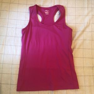 Puma Pink Exercise Top, Size M